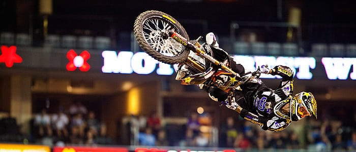 Jeremy Stenberg on his way to Gold  - X Games 17 - Photo Credit:ESPN Images
