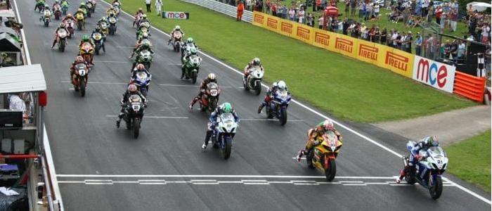 Start of BSB Race One - Photo Credit: Pirelli