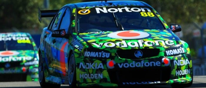 Jamie Whincup Photo credit: Team Vodafone