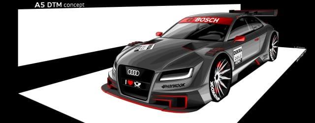 Audi A5 DTM - Photo Credit: Audi Motorsport