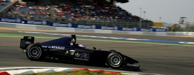 Adam Carroll racing for Super Nova at the Nurburgring in 2005 - Photo Credit: GP2 Series Media Service