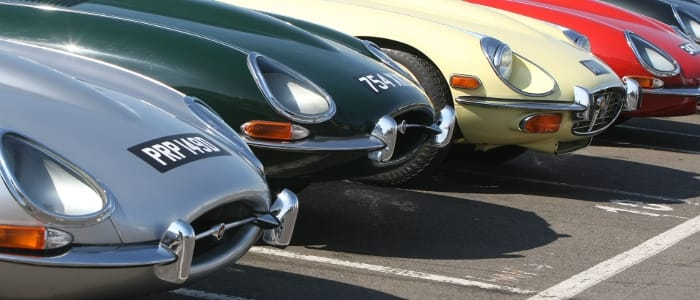 Over 1,000 Jaguar E-Types are expected at this year's Silverstone Classic - Photo Credit: Silverstone Classic