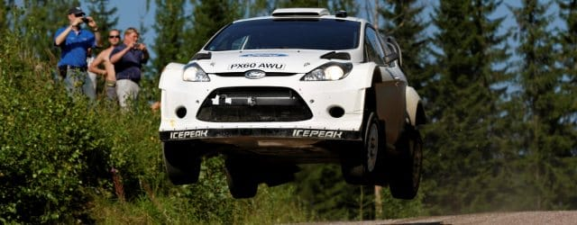 Hirvonen and Latvala tested the Ford Fiesta RS WRC in Finland last week ahead of Rally Finland - Photo Credit: worldrallypics.com