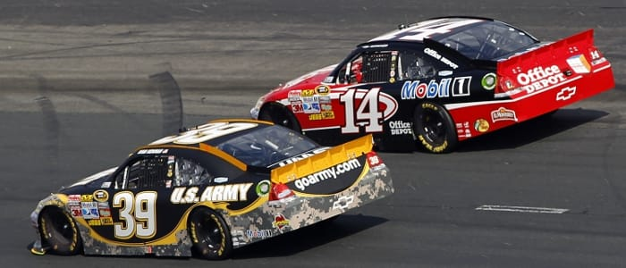 Ryan Newman and Tony Stewart - Photo Credit: Todd Warshaw/Getty Images for NASCAR
