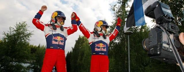 Daniel Elena and Sebastien Loeb - Photo Credit: Citroen Racing Media