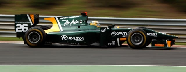 Luiz Razia has scored the first pole position of his GP2 career after coming out on top in a closely fought qualifying session at the Hungaroring. The Caterham Team AirAsia...