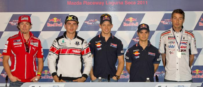 United States GP Press Conference - Photo Credit: MotoGP.com