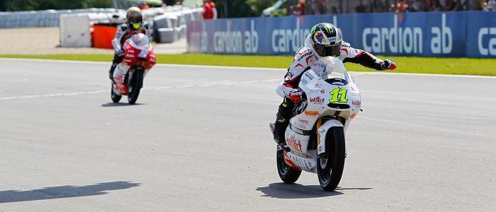 Sandro Cortese - Photo Credit: MotoGP.com