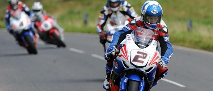 Keith Amor - Photo Credit: Honda TT Legends