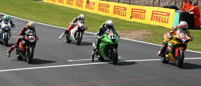 Race Two Gets Underway - Photo Credit: Pirelli