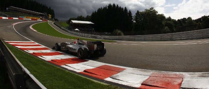 Michael Schumacher at the 2010 Belgian Grand Prix - Photo Credit: Mercedes GP