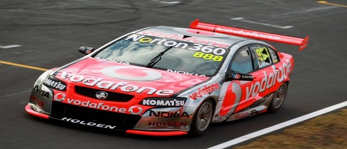 Craig Lowndes Photo credit: Team Vodafone