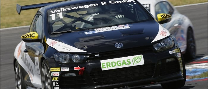 Daniel Lloyd (Credit: Volkswagen Motorsport)