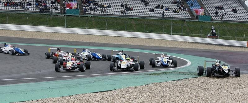 A Hectic Turn 1 of Round 17 - Photo Credit: F3Euroseries.com