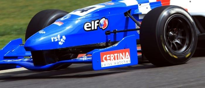 CERTINA's Logo Adorning Oliver Rowland's Formula Renault UK Car (Credit: Jakob Ebrey Photography)