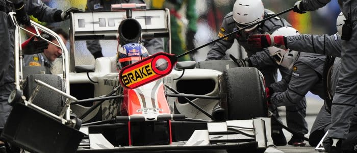 Daniel Ricciardo at the Hungarian Grand Prix - Photo Credit: HRT