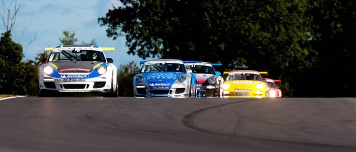 Jelley leads the pack at Snetterton
