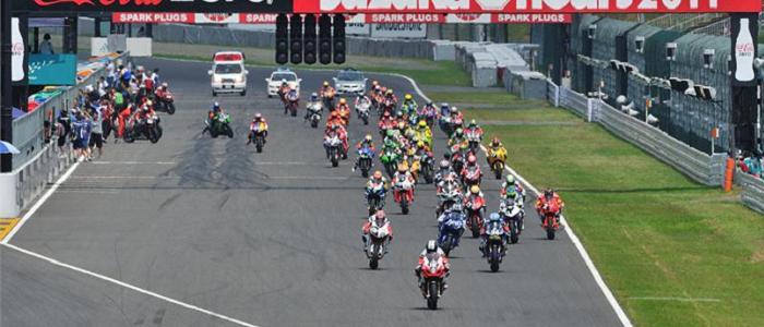 The start of the Suzuka 8 Hours - Photo Credit: Suzuki Racing
