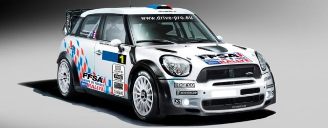 Pierre Campana's Mini John Cooper Works WRC