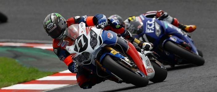 John McGuinness - Photo Credit: Honda TT Legends