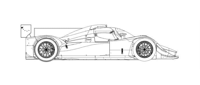 Lola LMP2 Coupe