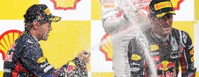 Sebastian Vettel and Mark Webber - Photo Credit: Getty Images
