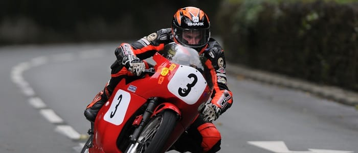 Ryan Farquhar - Photo credit: Manx Grand Prix Festival