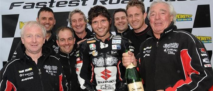 Guy Martin - Photo Credit: Suzuki Racing