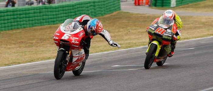 Johann Zarco (#5) & Nicolas Terol (#18) - Photo Credit: MotoGP.com