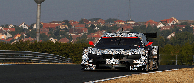 BMW M3 DTM (no. 9) - Photo Credit: BMW AG