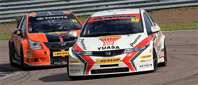 Gordon Shedden and Frank Wrathall - Rockingham Race 2 - Photo credit: BTCC.net