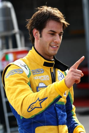 Felipe Nasr (Photo Credit: Chris Enion)