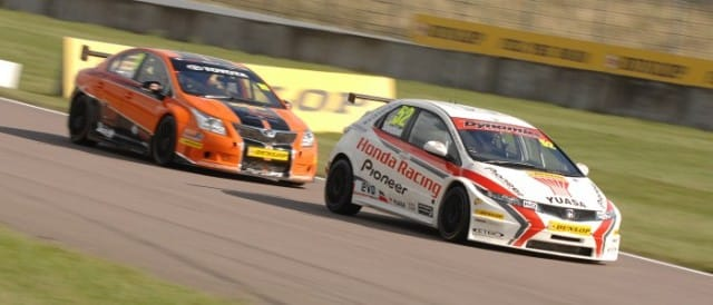 Gordon Shedden, Frank Wrathall (Photo Credit: Chris Gurton Photography)