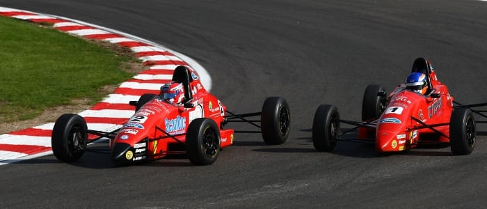 Brands racewinners Scott Malvern and Jeroen Slaghekke (Credit: Jakob Ebrey Photography)