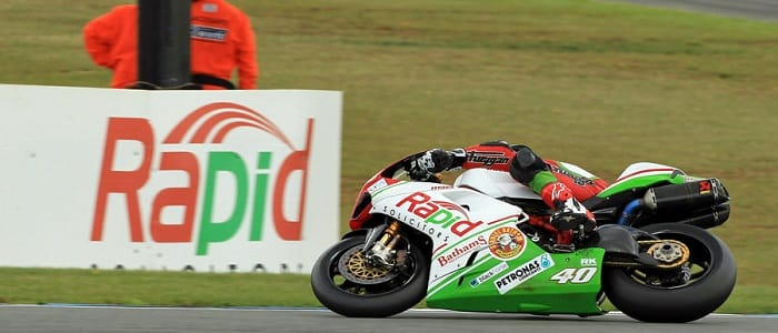 Martin Jessopp - Photo Credit: Rapid Solicitors-Bathams Ducati