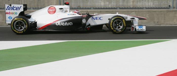 Kamui Kobayashi - Photo Credit: Sauber Motorsport AG