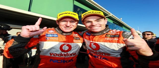 Mark Skaife & Craig Lowndes Photo Credit: TeamVodafone