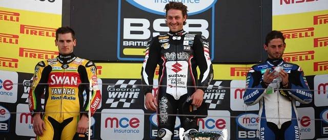 The Race Two Podium at Silverstone - Photo Credit: Pirelli