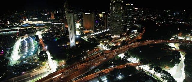 The Marina Bay Circuit, Singapore - Photo Credit: Ker Robertson/Getty Images