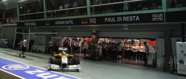 Adrian Sutil - Photo Credit: Force India F1 Team