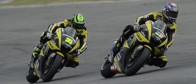 Cal Crutchlow & Colin Edwards - Photo Credit: Tech 3