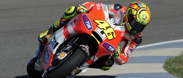 Valentino Rossi - Photo Credit: Ducati