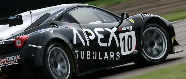 Championship leading CRS Ferrari 458 GT3 (Photo Credit: Jakob Ebrey Photography)