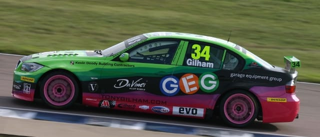 Tony Gilham, Geoff Steel Racing (Photo Credit: BTCC.net)