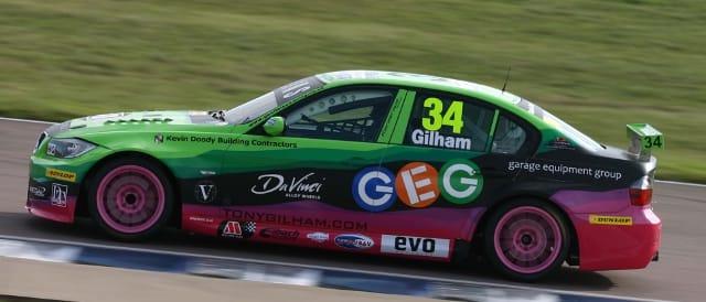 Tony Gilham, Geoff Steel Racing (Photo Credit: BTCC.net)
