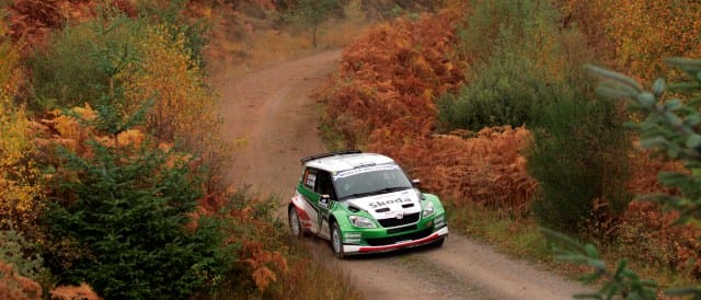 Juho Hanninen returns to defend the Rally of Scotland title he won last year - Photo Credit: rally-irc.com