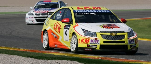 Chinese driver Darryl O'Young will be a fan favourite at the Tianma round - Photo Credit: fiawtcc.com