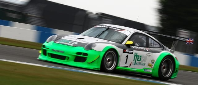Stephen Jelley/David Ashburn Trackspeed Porsche (Photo Credit: Chris Enion)