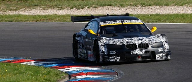 The No. 3 BMW Team Schnitzer BMW M3 DTM - Photo Credit: BMW AG