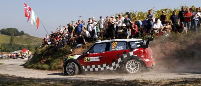 Dani Sordo has taken the lead of Rallye de France for Mini on the final stage of an eventful first day.